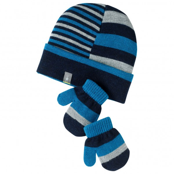 Smartwool - Kids Split Stripe Hat / Mitt Set - Mützenkombi