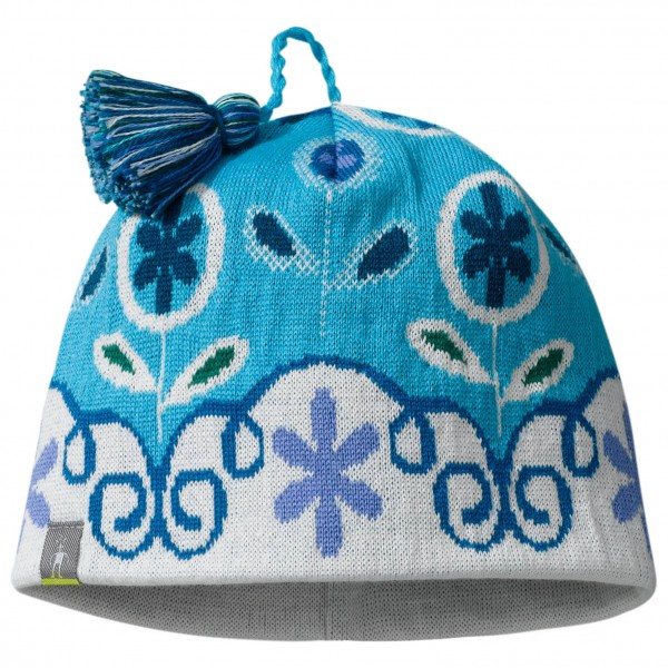 Smartwool - Girl's Wintersport Flower Patch Hat - Myssy