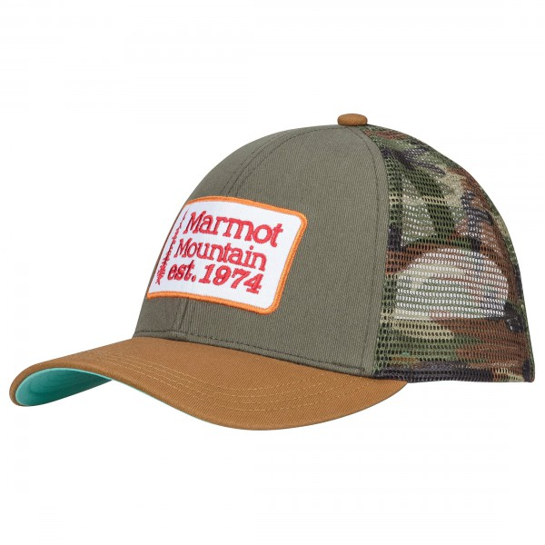 Marmot - Retro Trucker Hat - Pet