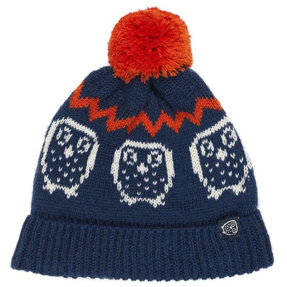 Ej Sikke Lej - Kid's Nordic Knit Hood - Myssy