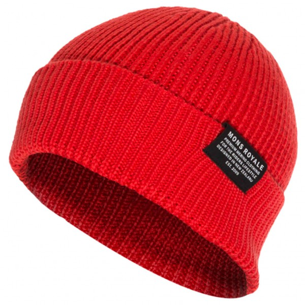 Mons Royale - Fishermans Beanie - Bonnet