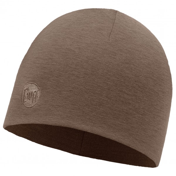 Buff - Merino Wool Thermal Hat Solid - Beanie