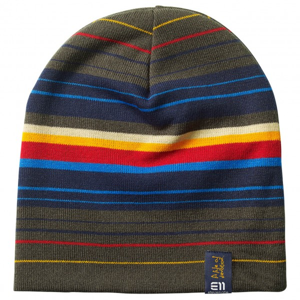 Elevenate - Striped Beanie - Muts