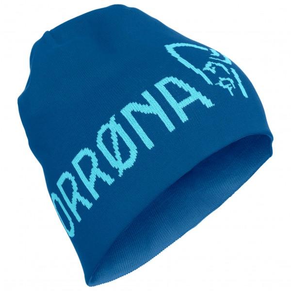 Norrøna - /29 Thin Wool Logo Beanie - Bonnet