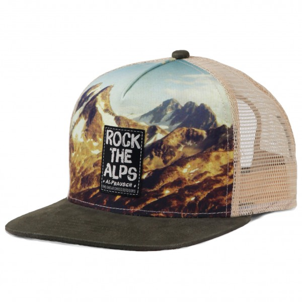 Alprausch - Rock The Alps Mütze Trucker Cap - Cap