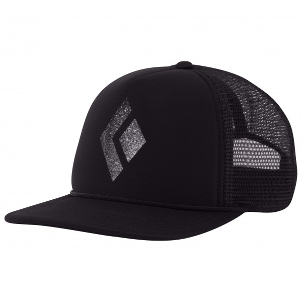Black Diamond - Flat Bill Trucker Hat - Cap