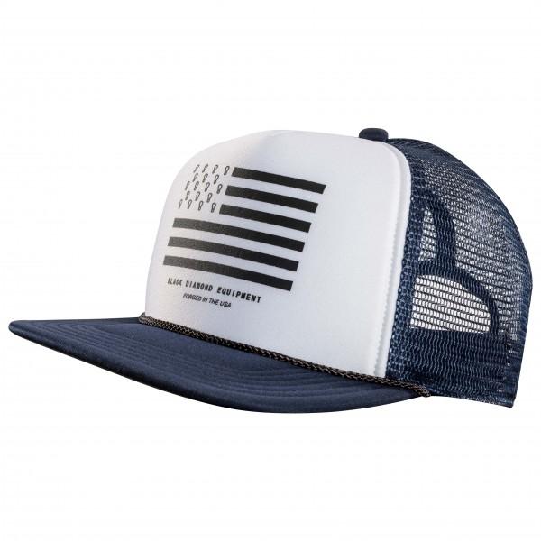 Black Diamond - Flat Bill Trucker Hat - Cap