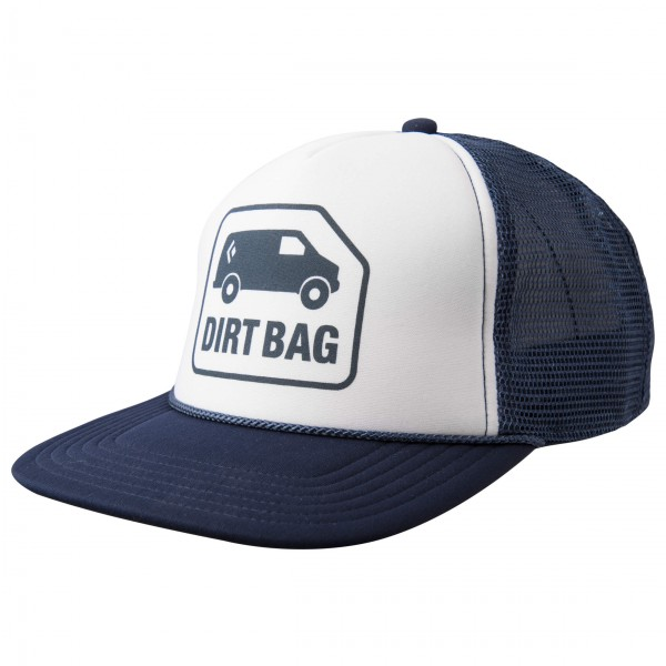 Black Diamond - Flat Bill Trucker Hat - Lippalakki