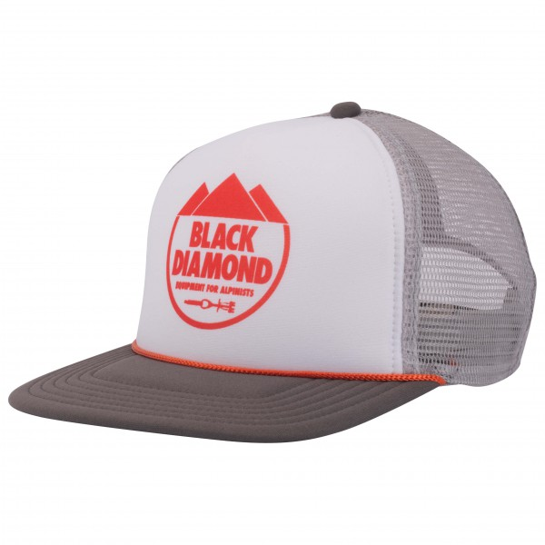 Black Diamond - Flat Bill Trucker Hat - Keps