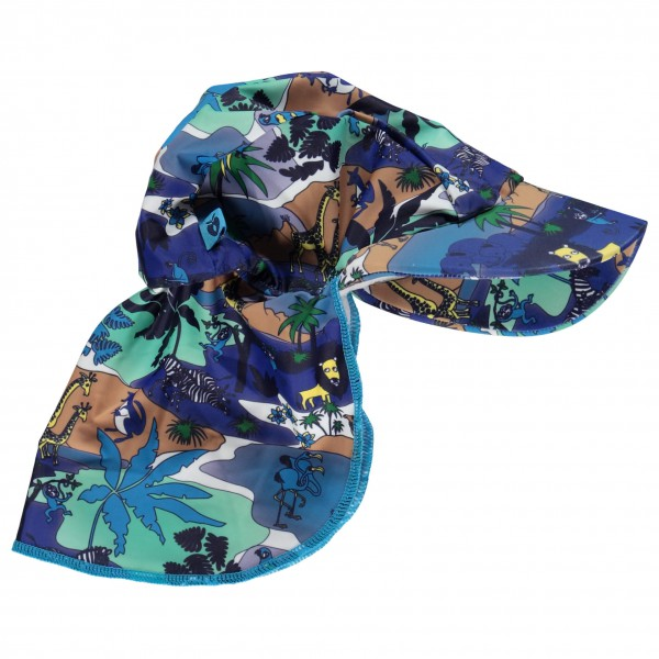 Smafolk - Kid's Jungle Sun Cap - Hattu