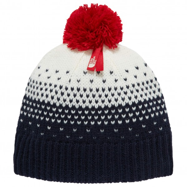 The North Face - Youth Pom Pom Beanie - Beanie