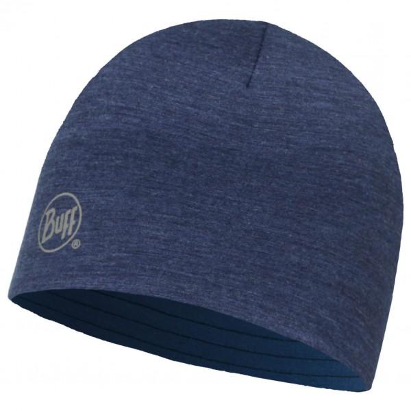 Buff - Merino Wool Reversible Hat - Bonnet