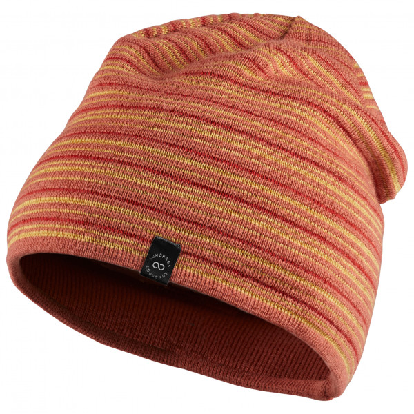 Lundhags - Striped Beanie - Lue