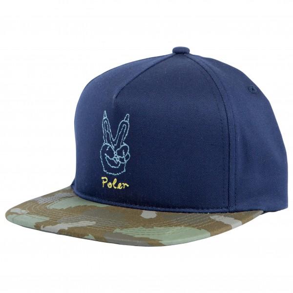 Poler - Peace Paw Snapback - Lippalakki