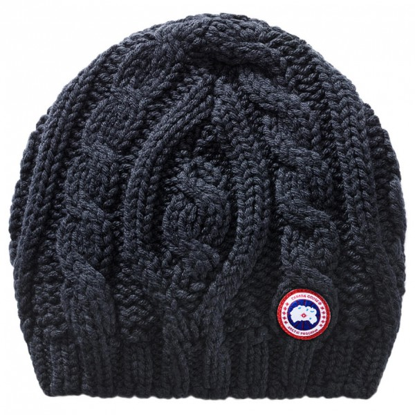 Canada Goose - Ladies Chunky Cable Knit Beanie - Beanie