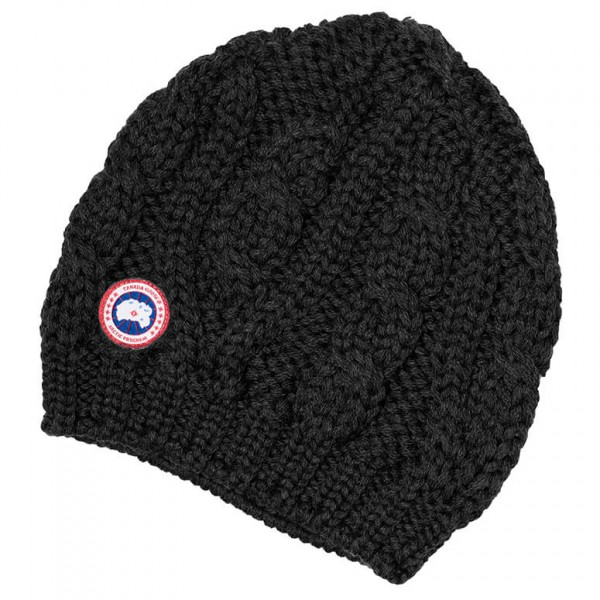 Canada Goose - Ladies Chunky Cable Knit Beanie - Lue