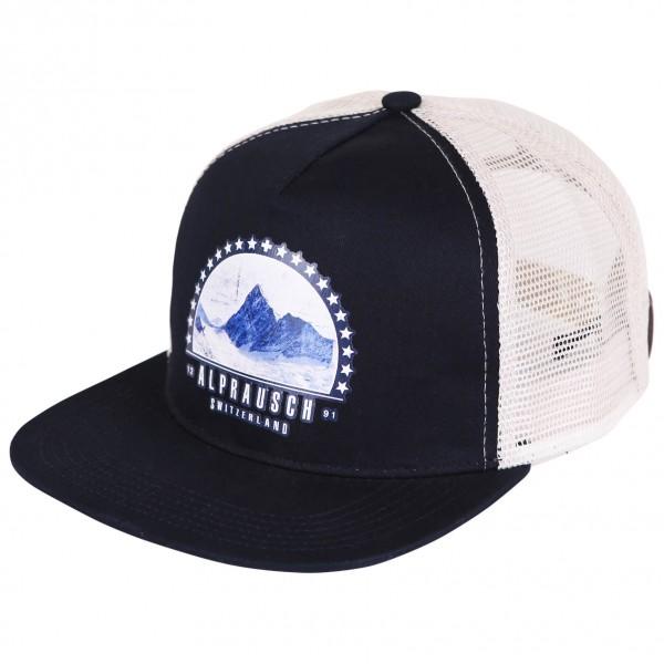 Alprausch - Sterne-Berg Mütze Trucker Cap - Lippalakki