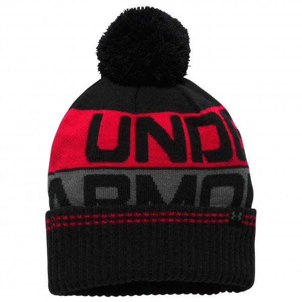 Under Armour - Retro Pom Beanie 2.0 - Lue