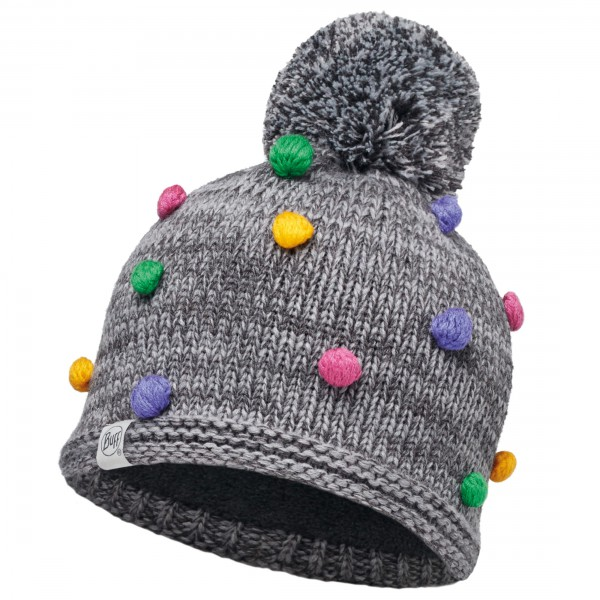 Buff - Child Knitted & Polar Hat Odell - Muts