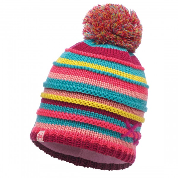 Buff - Knitted & Polar Hat Child Lasse - Hue