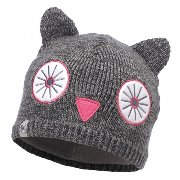 Buff - Knitted & Polar Hat Child Shila - Beanie