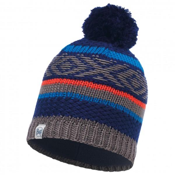 Buff - Knitted & Polar Hat Junior Tipsy - Hue