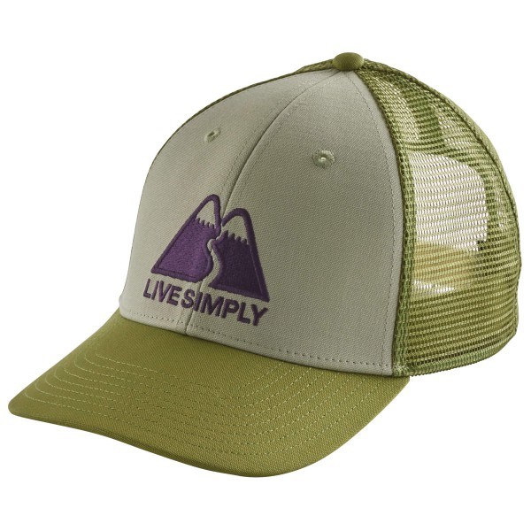 Patagonia - Live Simply Winding Lopro Trucker Hat - Lippalakki