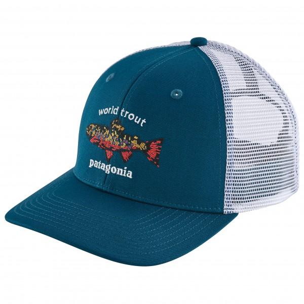 Patagonia - World Trout Brook Fishstitch Trucker Hat - Lippalakki
