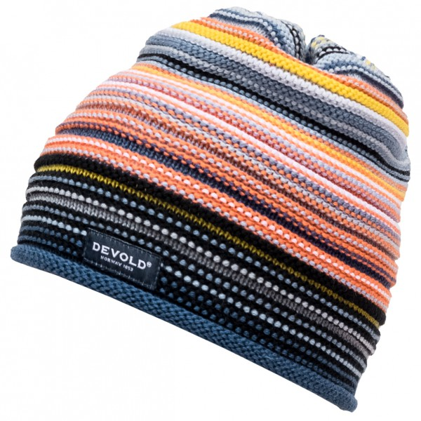 Devold - Multi Colored Kid Beanie - Lue
