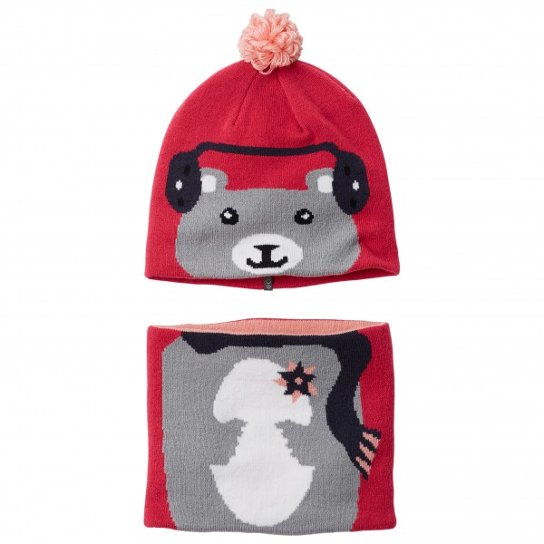 Columbia - Kid's Snow More Beanie And Gaiter Set - Mössa