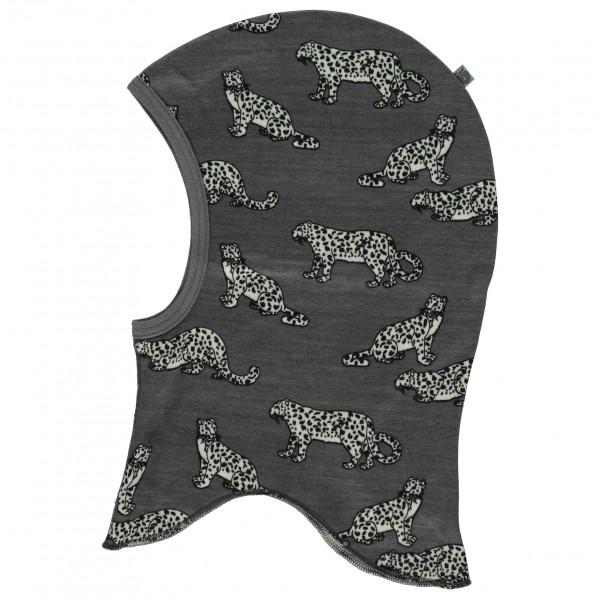 Smafolk - Kid's Wool Mix Elephanthood with Leopard - Stormhætte