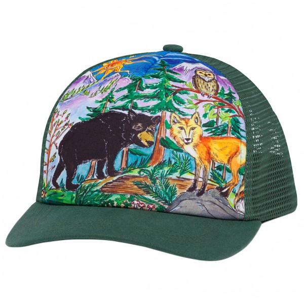 Sunday Afternoons - Kid's Artist Series Trucker Cap - Pet