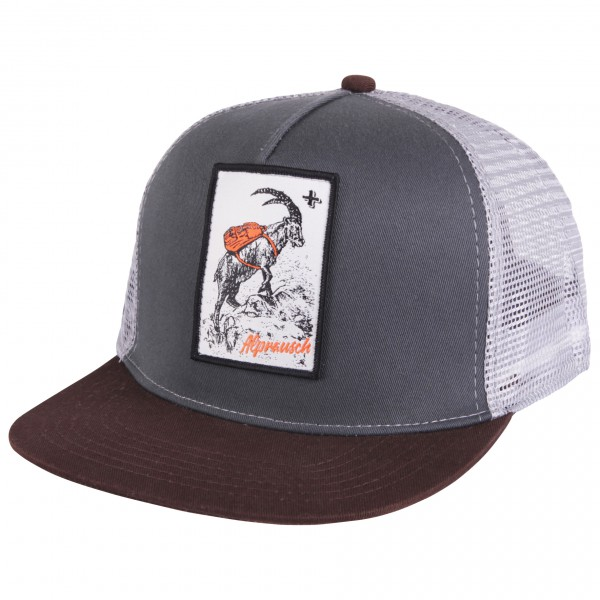 Alprausch - Wanderbock-Mütze Trucker Cap - Lippalakki