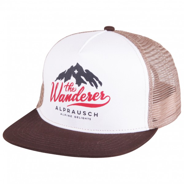 Alprausch - Wandervogel-Mütze Trucker Cap - Keps