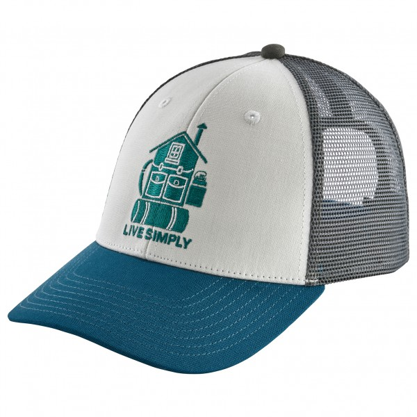 Patagonia - Live Simply Home Lopro Trucker Hat - Keps