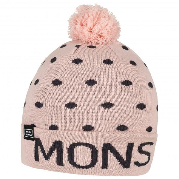 Mons Royale - Pom-Pom Beanie - Myssy