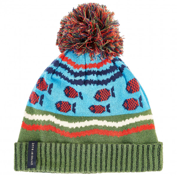 United By Blue - Youth Undersea Pom Beanie - Hue