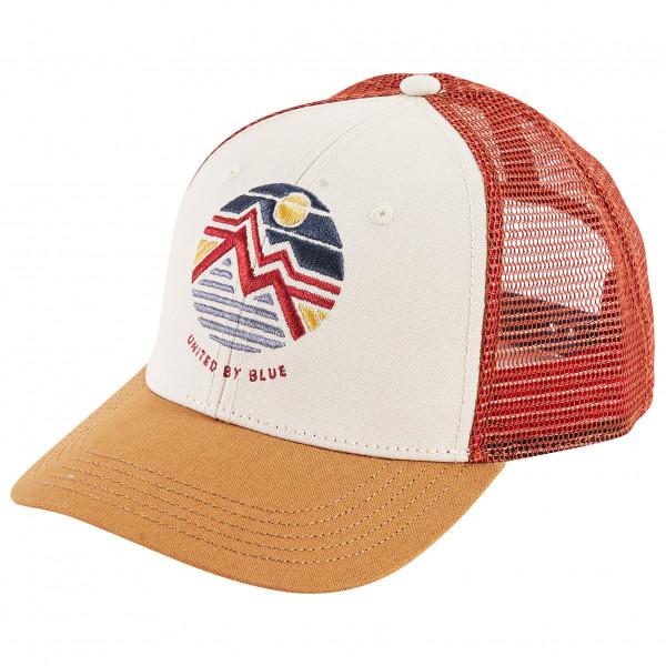 United By Blue - Women's Geo Mountain Trucker Hat - Cap