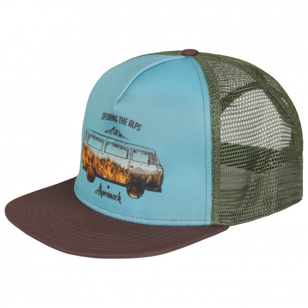 Alprausch - Panorama-Büssli Trucker Cap - Cap