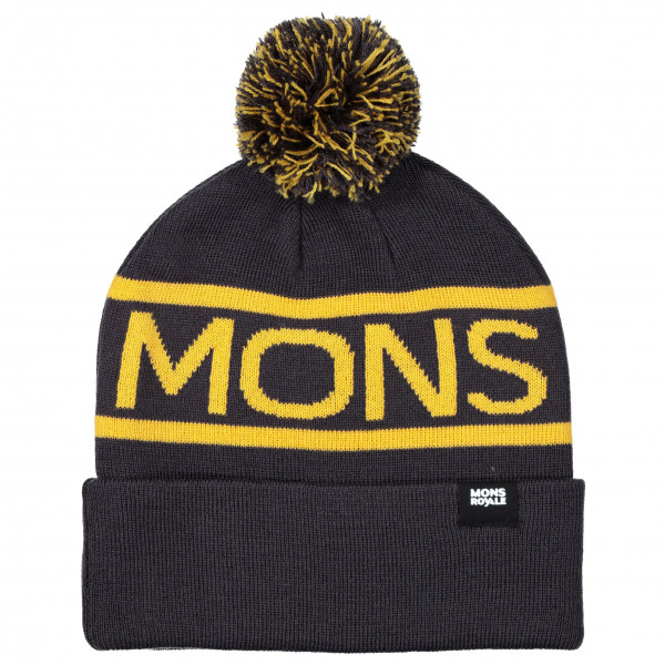 Mons Royale - Pom-Pom Beanie - Muts
