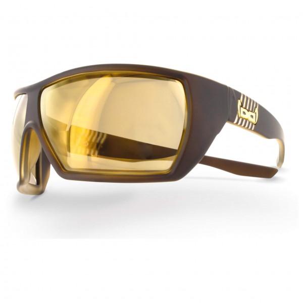 Gloryfy - G12 Brown Gold Mirror F2 - Lunettes de soleil