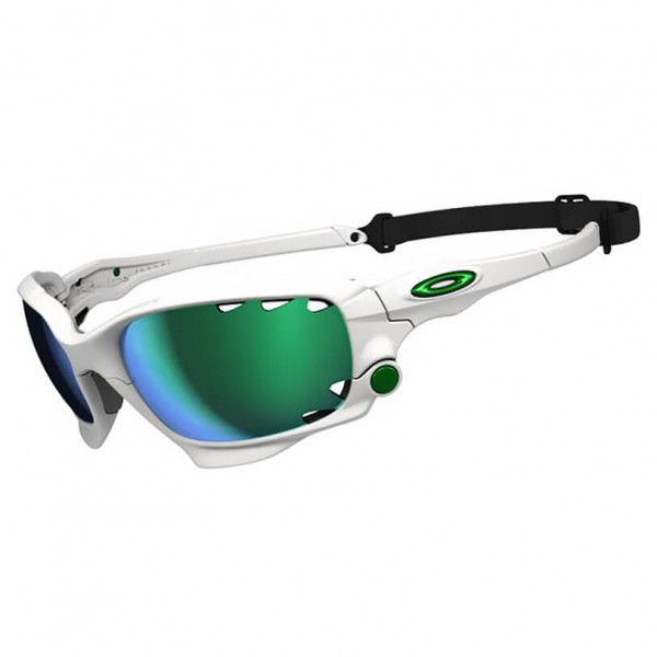 Oakley - Racing Jacket Jade Iridium / P42 - Sunglasses