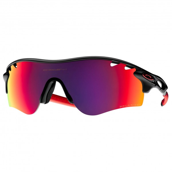 Oakley - Radarlock Red Polarized / Black Iridium