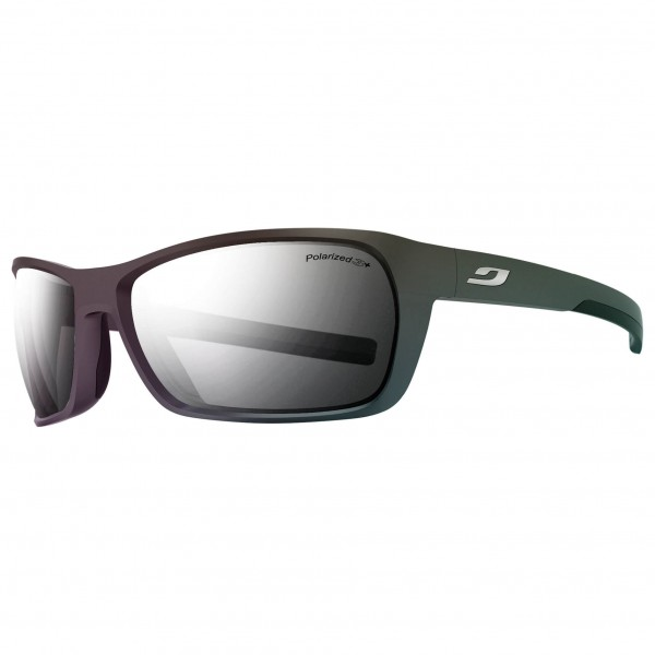 Julbo - Blast Grey Flash Silver Polarized 3+ - Fahrradbrille