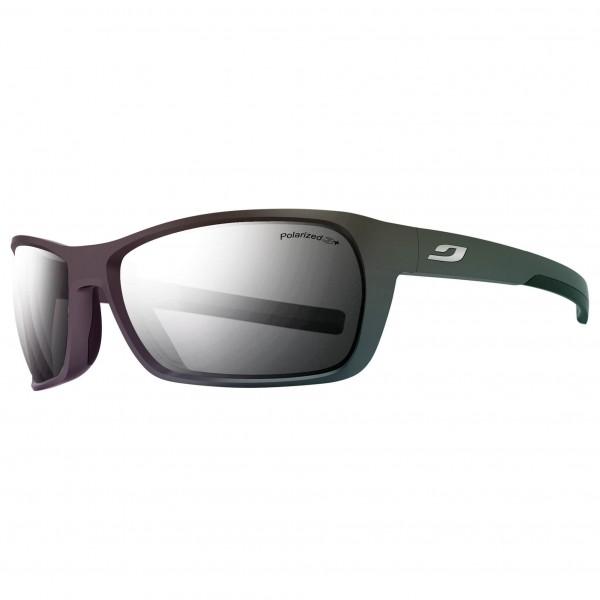 Julbo - Blast Grey Flash Silver Polarized 3+ - Fahrradbrille