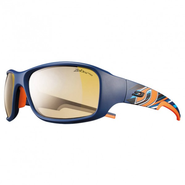 Julbo - Stunt Yellow / Brown Zebra Light - Fahrradbrille