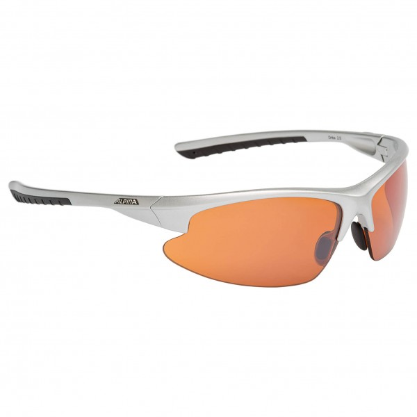 Alpina - Dribs 2.0 Orange Mirror 2 - Cycling glasses