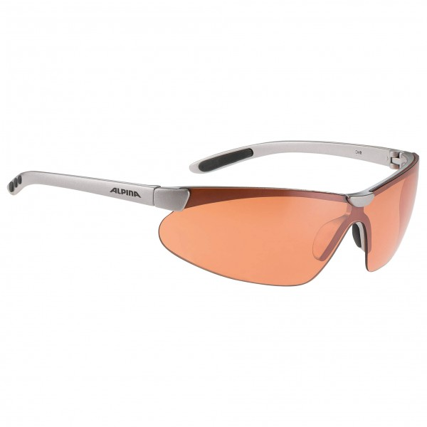 Alpina - Drift Orange Mirror 2 - Lunettes de cyclisme