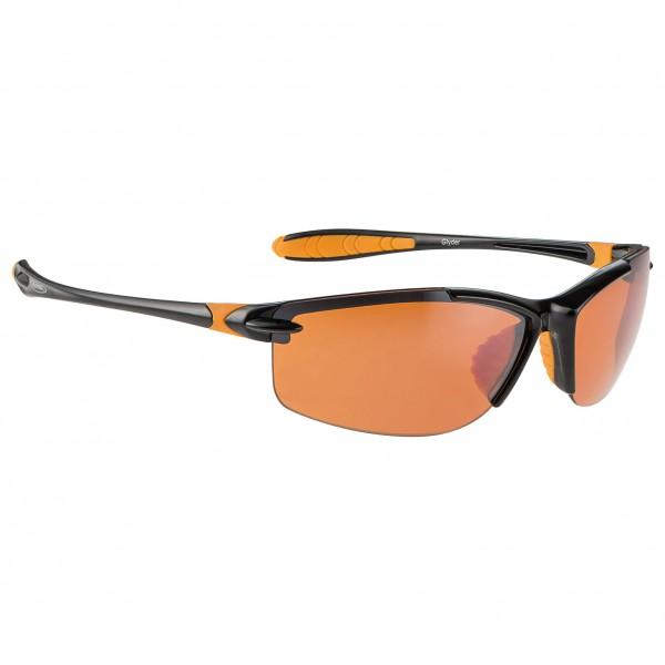 Alpina - Glyder Orange Mirror 2 - Cycling glasses