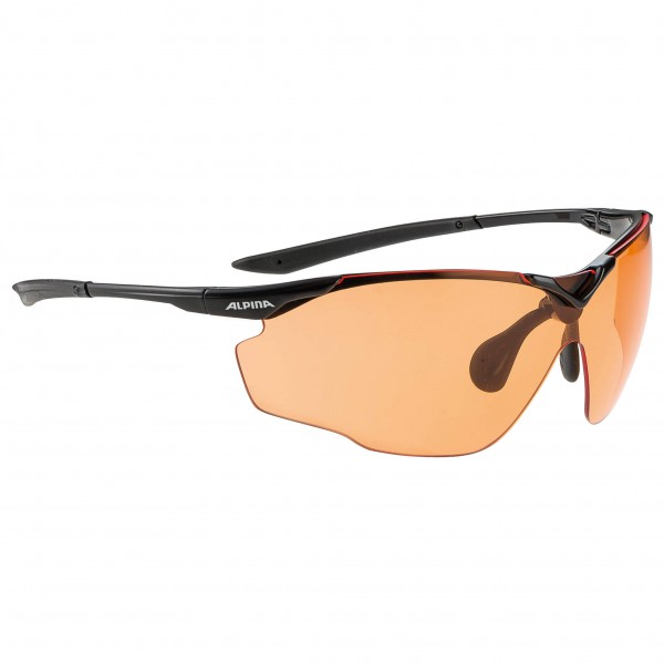 Alpina Splinter Shield VL Varioflex Orange 1-2 - Cykelbriller køb online | Glasses